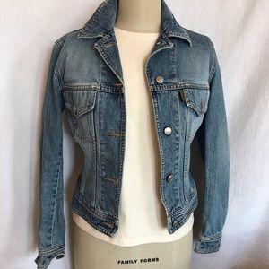 Katharine Hamnett XS stone washed Jean jacket
